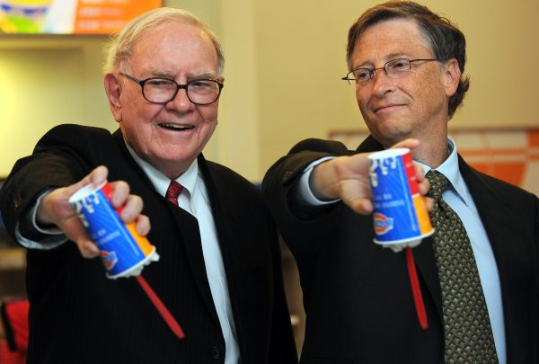 Warren Buffett and Bill Gates flip over their Blizzard