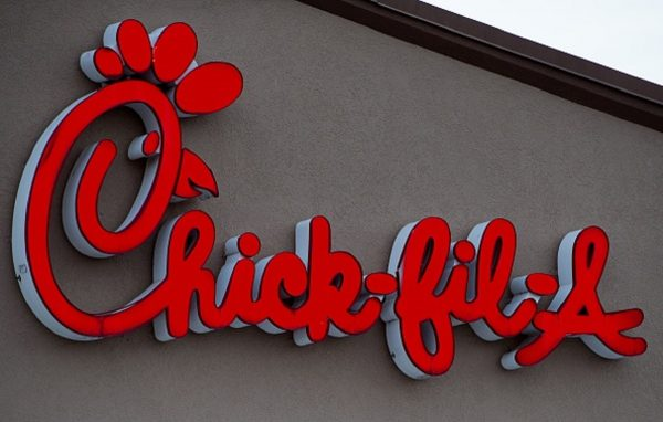 The Chick-fil-A restaurant is seen in Chantilly, Virginia