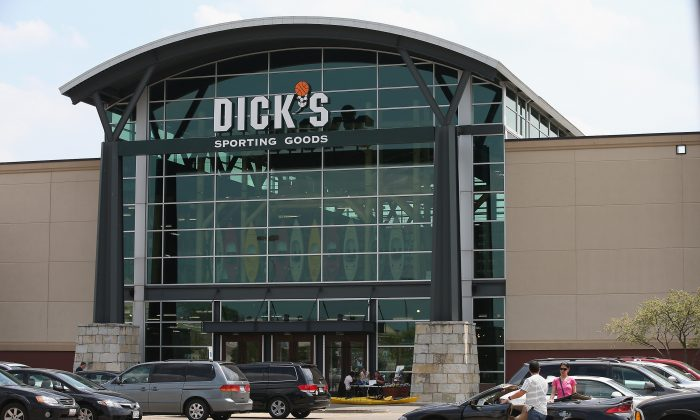 A Dick's Sporting Goods store in a file photograph. (Scott Olson/Getty Images)