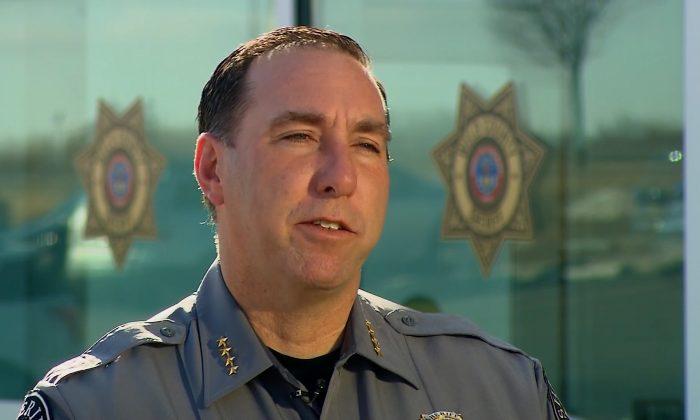 Sheriff Steve Reams, Weld County Sheriff's Office. (screenshot via CNN)