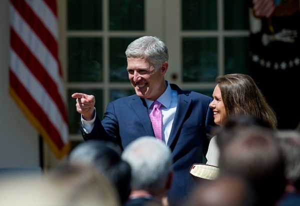 U.S. Supreme Court Justice Judge Neil Gorsuch points