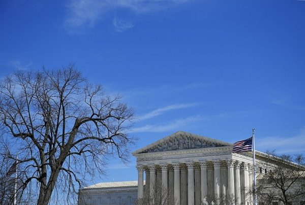 The US Supreme Court is seen in Washington
