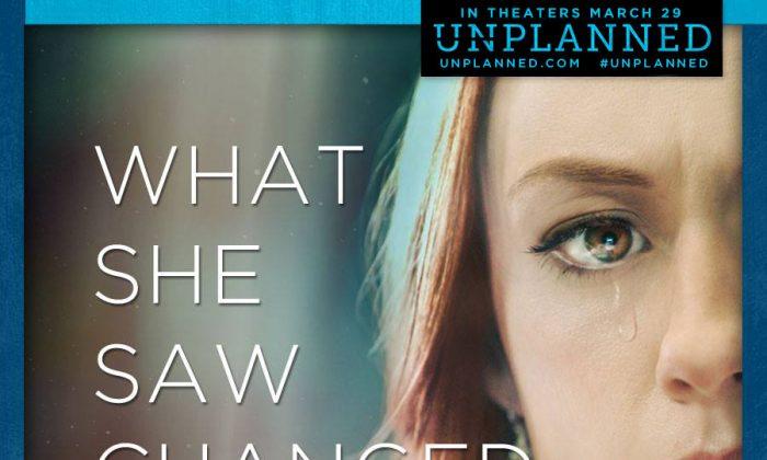 "A poster for ""Unplanned"" (Courtesy unplannedfilm.com)"