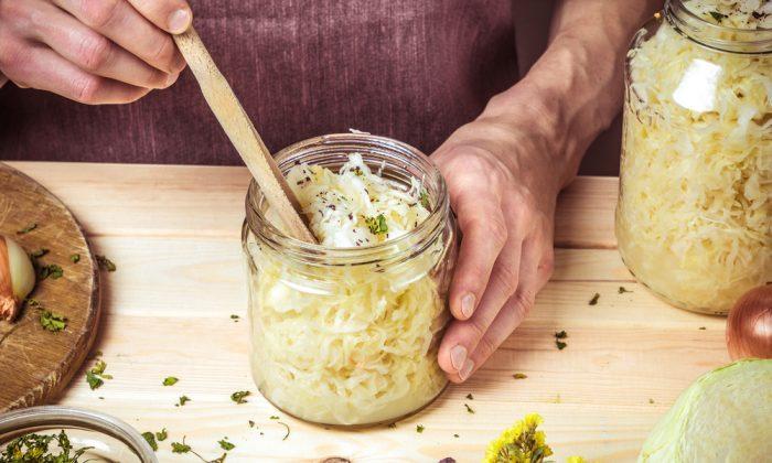 Sauerkraut is an easy gateway ferment. (Shutterstock)
