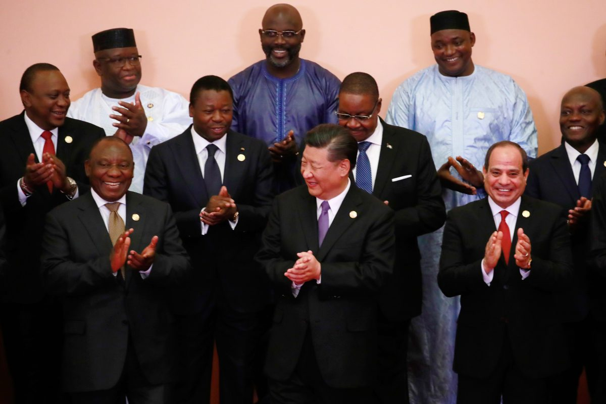 Xi Jinping and African leaders