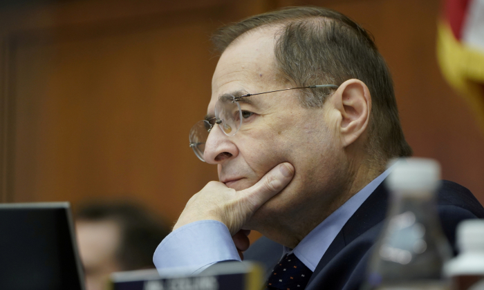 House Judiciary Committee Chairman Jerrold Nadler (D-N.Y.) in Washington on Feb. 8, 2019. (Joshua Roberts/Reuters)