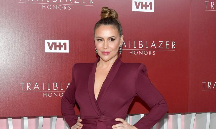 Alyssa Milano attends VH1 Trailblazer Honors at The Wilshire Ebell Theatre in Los Angeles, Calif., on Feb. 20, 2019. (Photo by Amy Sussman/Getty Images)
