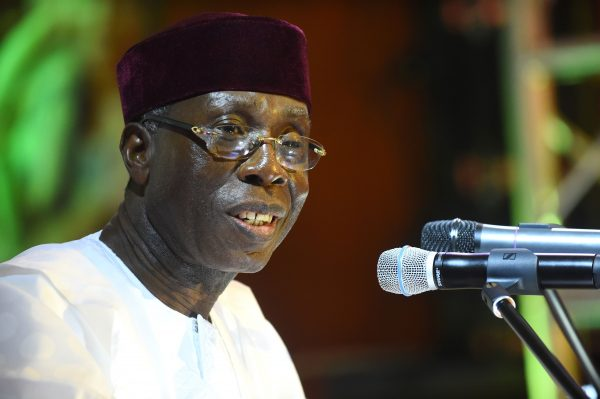 Nigerian Minister of Agriculture Audu Ogbeh