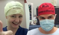 Doctor Writes His Name on Scrub Cap to Avoid Mix-Ups, Becomes a Trend That Saves Lives