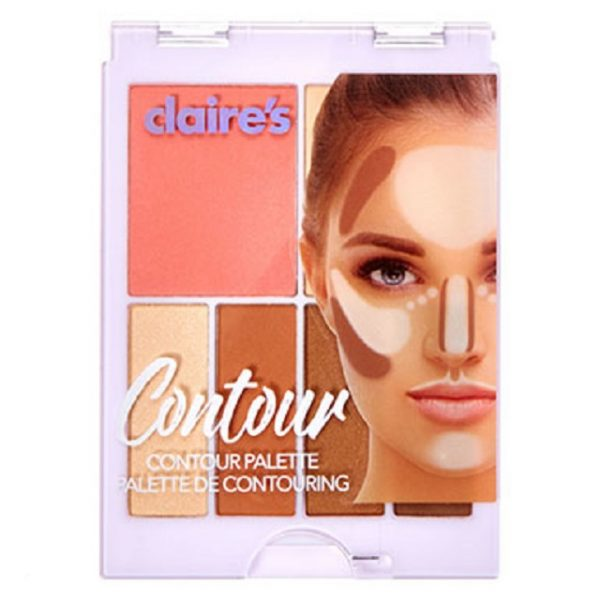 Health Canada issued a recall on April 3, 2019 for Claire's Contour Palette due to possible asbestos contamination. (Health Canada)