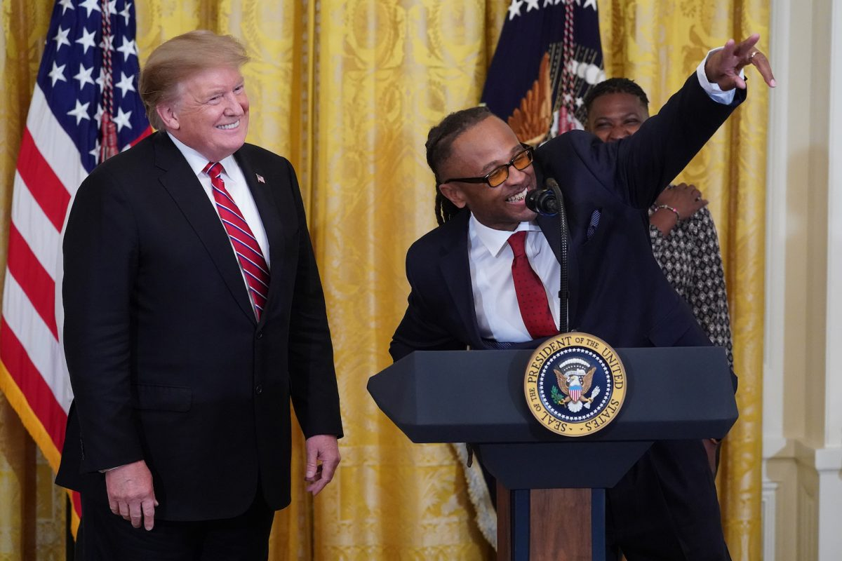 Gregory Allen and President Trump