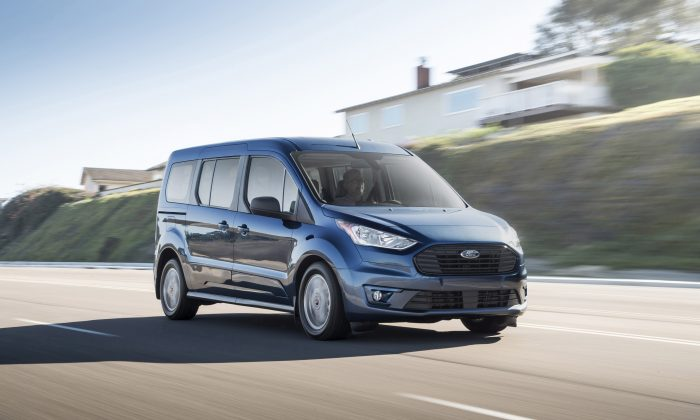 2019 Ford Transit Connect Passenger Wagon. (Courtesy of Ford)