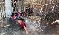 Dramatic Border Video With Kids Surfaces Amid Crossing Surge