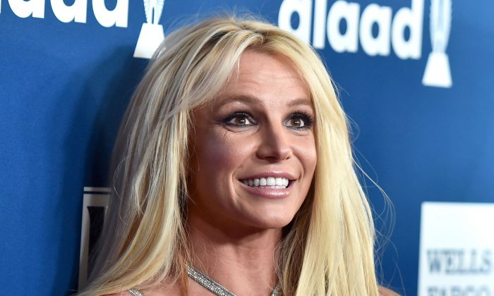 Britney Spears in an April 2018 file photo (Alberto E. Rodriguez/Getty Images)
