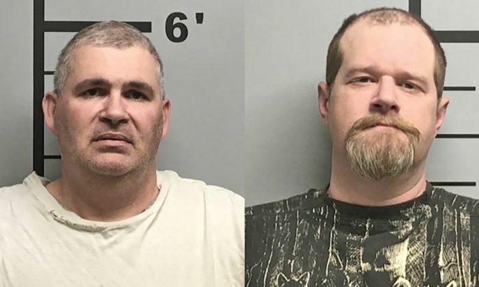 Charles Eugene Ferris (L) , 50, and Christopher Hicks, 36. (Benton County Sheriff)
