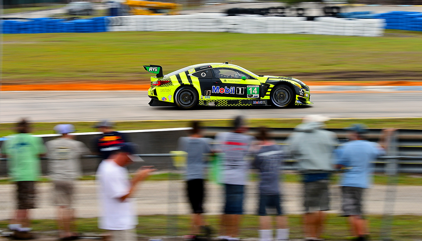 Fans can get close to the action at Sebring.