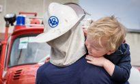 Firefighters Comfort 2 Children After Car Crash: 'Compassion Is a Form of Medicine'