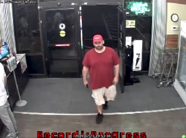 suspect in store before attack