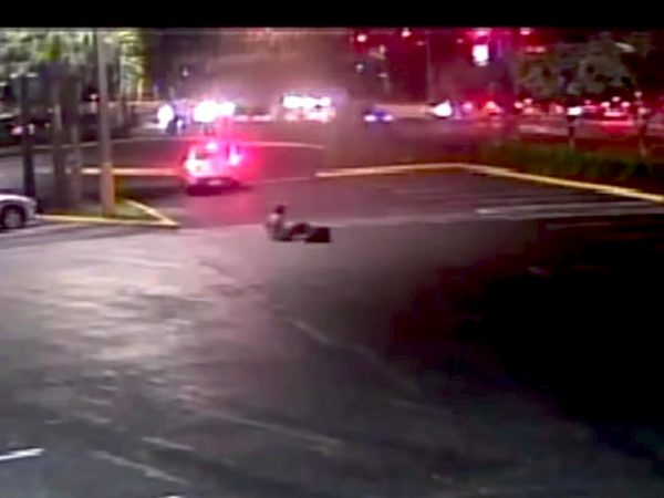victim following hit and run