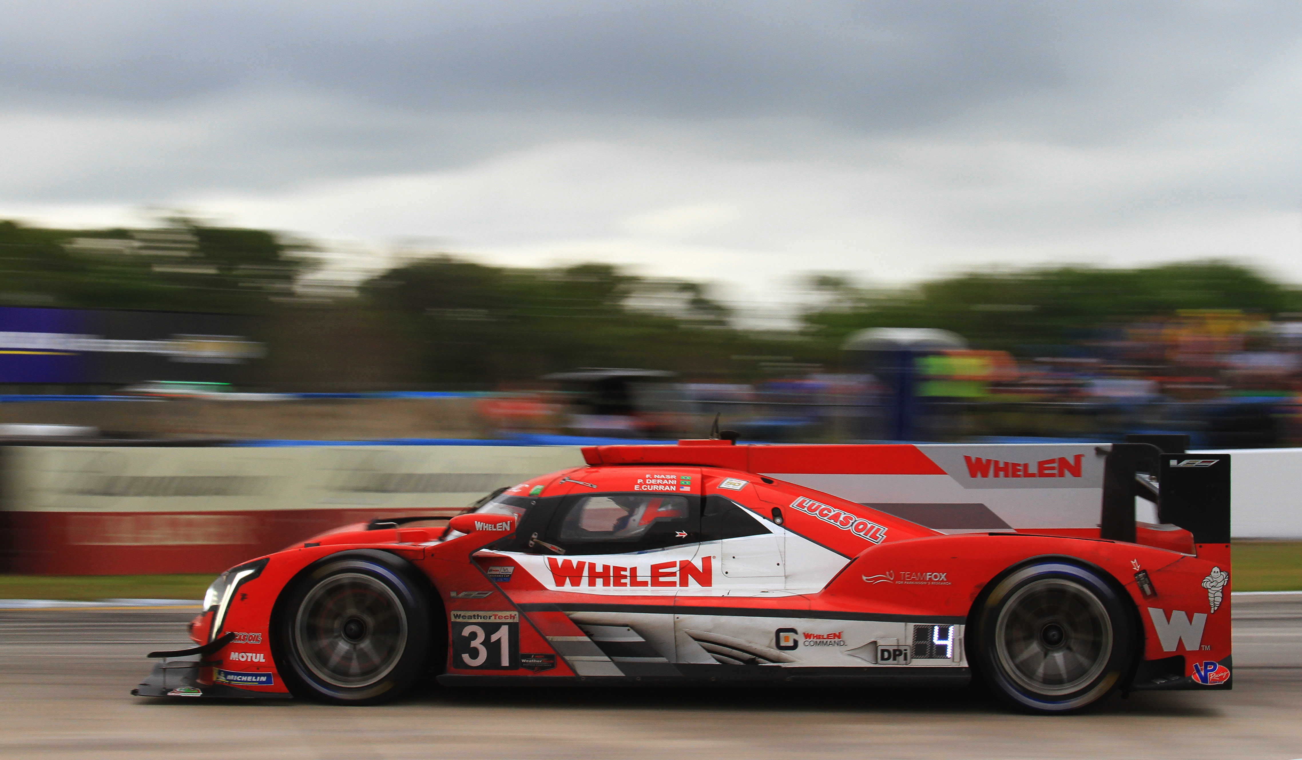 The Whelen Engineering Cadillac was just a little faster than everyone else