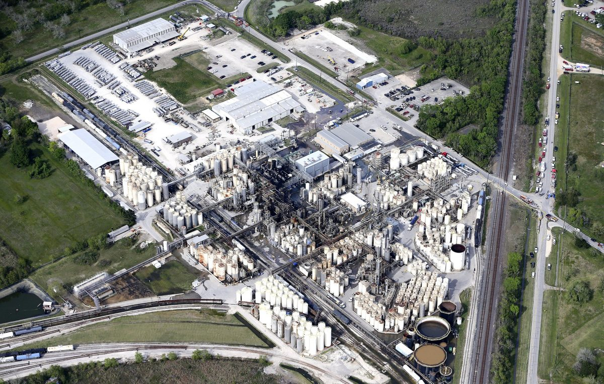 KMCO chemical plant in Crosby