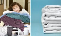 Upgrade Your Laundry Routine With an Awesome Hack for Folding Fitted Sheets