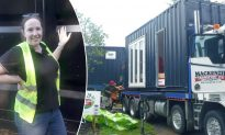 Lady Spends Over $81K to Transform Shipping Container Into Award-Winning Tiny Cozy Home
