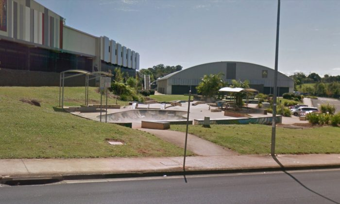 The skatepark in Lismore, NSW, Australia. (Screenshot/Google maps)