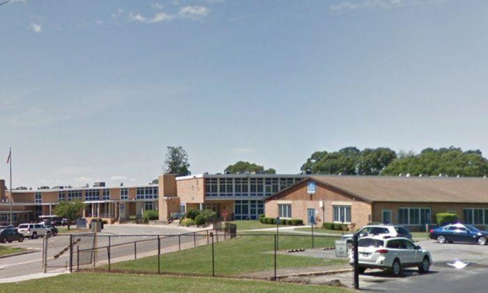 Samoset Middle School in Ronkonkoma, New York. (Screenshot via Google Maps)