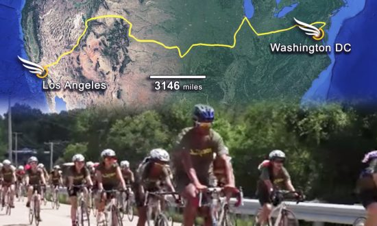 26 Teens From 15 Countries Bike 3,000 Miles to Tell Horrifying Ordeals of Orphaned Children