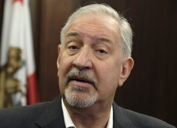 Attorney Mark Geragos talking to the media during a news conference