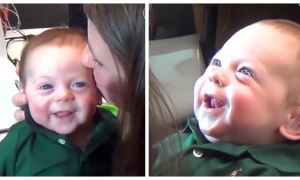 Baby Hears For the First Time and His Reaction Makes Him Instantly Go Viral