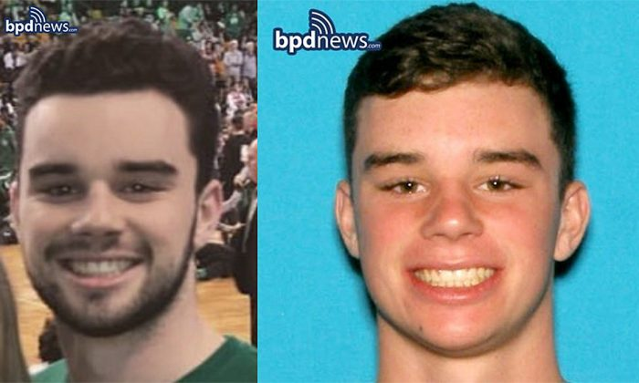 Undated headshots of missing Wentworth University Student Maximillian Carbone, 19, from Nahant, Mass. (Courtesy of the Boston Police Department)