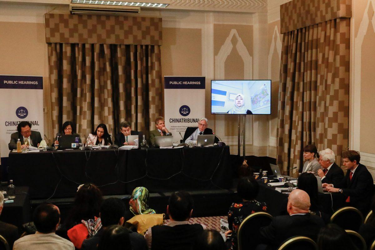 Uyghur Gulbahar Jelilova gives evidence