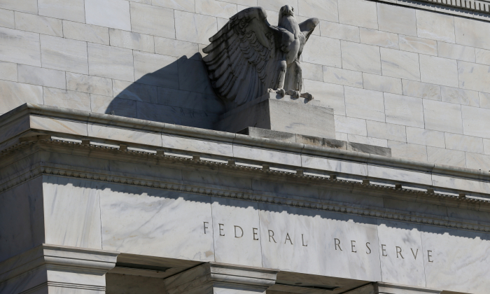 Federal Reserve Board building on Constitution Avenue is pictured in Washington, U.S., March 19, 2019. (Leah Millis/Reuters)