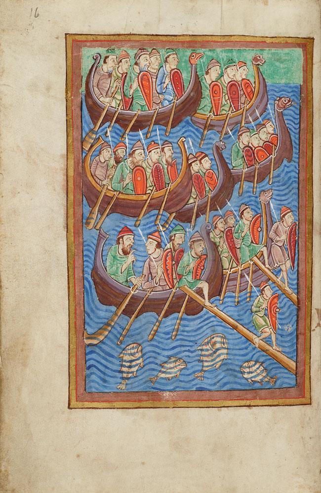 vikings invading Britain