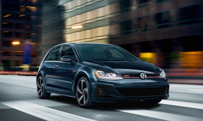 2019 Volkswagen Golf GTI. (Courtesy of Volkswagen)