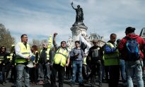 French 'Yellow Vest' Protests Largely Peaceful as Macron Wraps up Debate