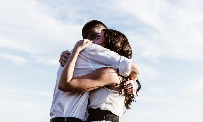 Hugs have a biochemical impact that lasts longer than the embrace. (Priscilla Du Preez/Unsplash)