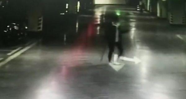 Girl smashes cars