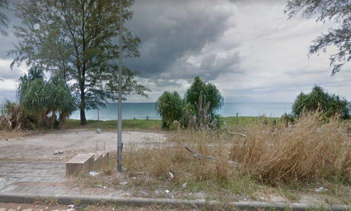 A beach in Phuket, Thailand (Google Street View)