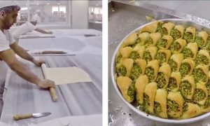 The Making of Turkish Baklava Is Exotic and Satisfying
