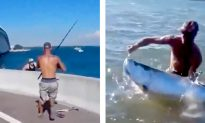 Video: Man Furiously Battles to Reel in a MASSIVE Fish in Florida