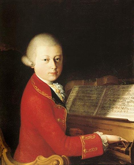 Mozart at 14