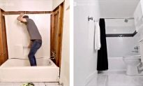 Watch This Guy Turns His Musty Bathroom Into a Shining and Glimmering New Place While Doing It Effortlessly