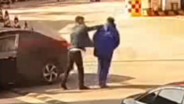 Gas station incident