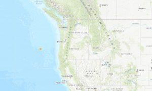 USGS: 4.7 Magnitude Earthquake Hits West of Oregon Coast