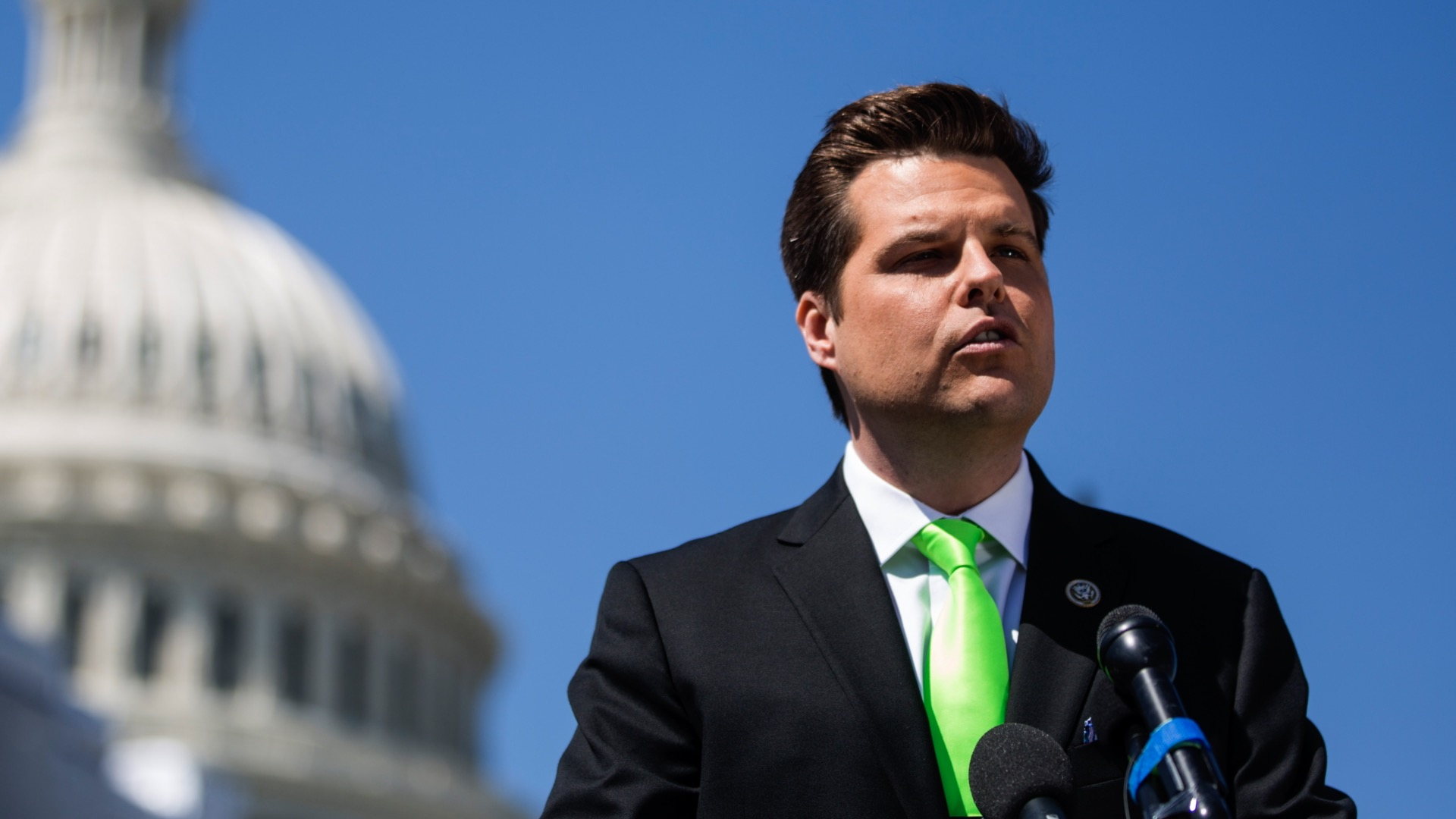 Gaetz Criticizes Schiff for Removing Him From 'Unfair' Impeachment Inquiry Hearing