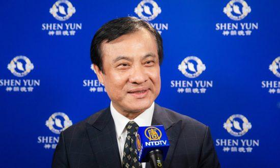 Taiwanese Legislative President Enjoys Positive Energy In Shen Yun