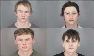5 People Arrested in Connection With Chemical Bomb Thrown at Officer, Resident